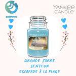 yankee candle grande jar escapade à la plage
